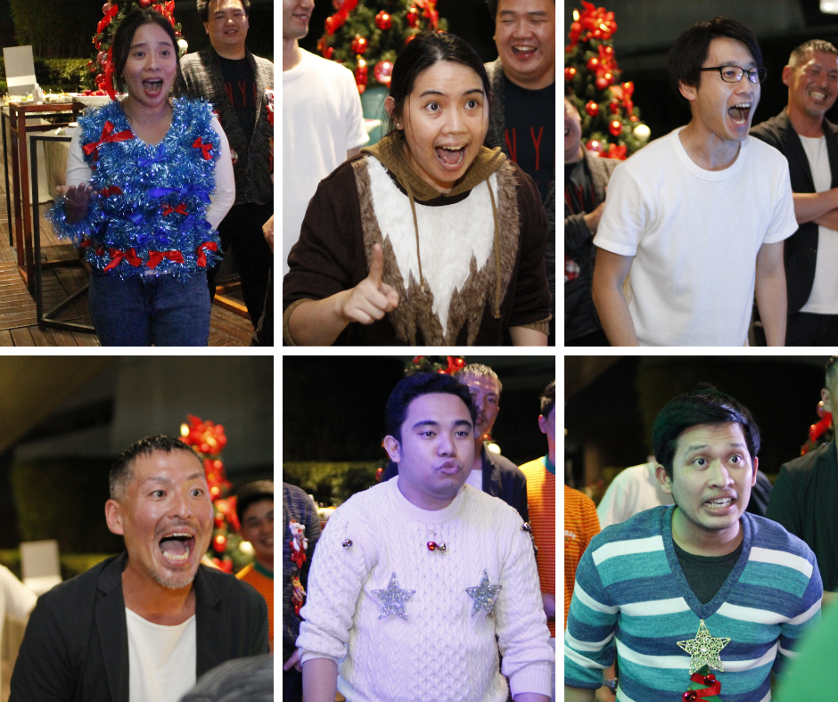 Christmas Party 2019 Rocking The Ugly Sweaters Blog Commude Philippines Inc