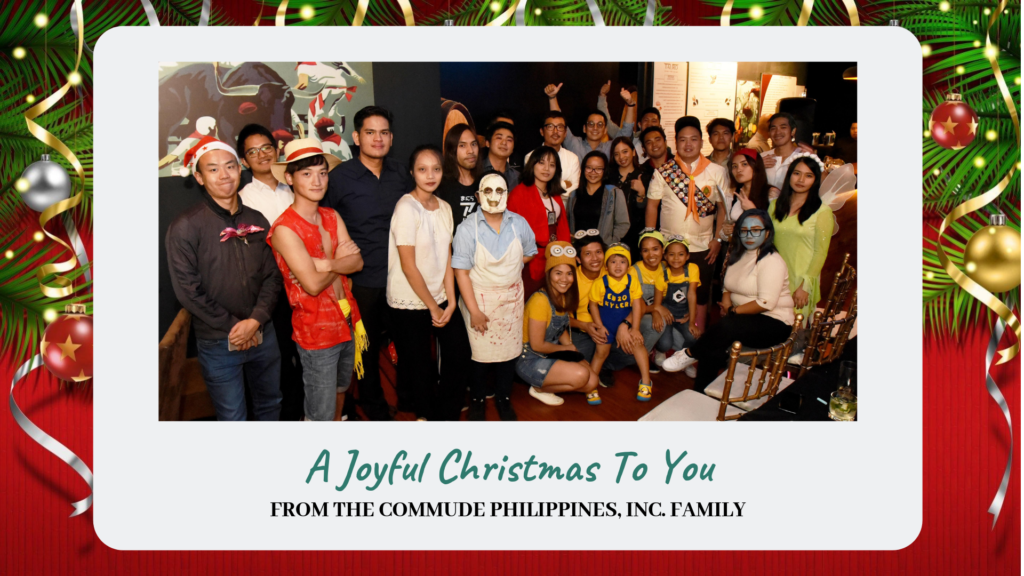 Christmas Party 2018 Living The Movie Character Life Blog Commude Philippines Inc